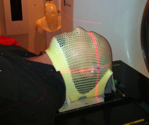 Radiology mask