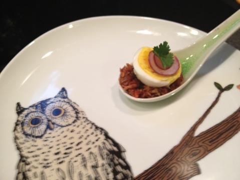Egg, Kimchi